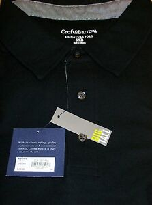 Croft /& Barrow Men/'s Signature Pique Polo Long Sleeve Shirt Big Tall 2XB 3XB 4XB