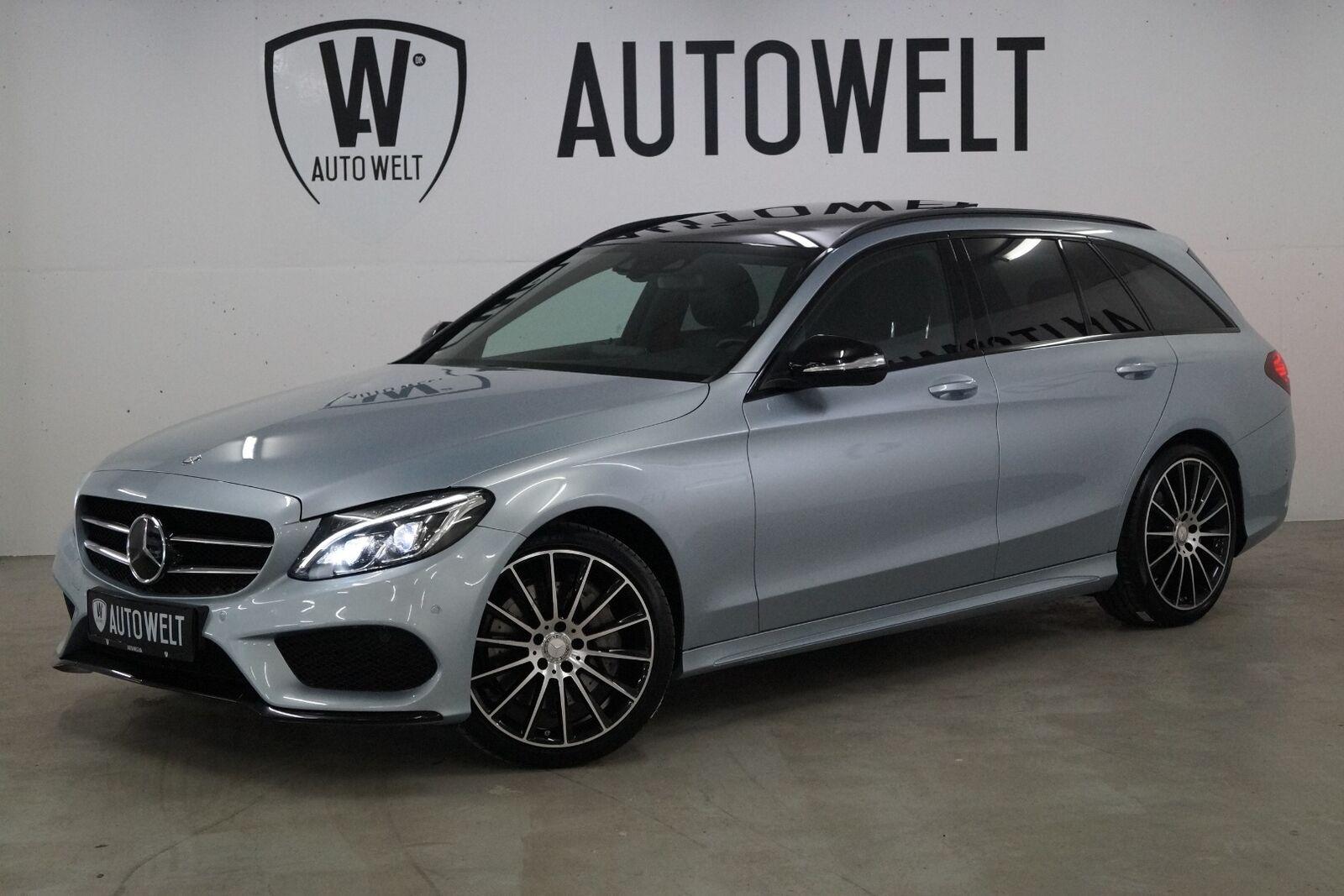 Mercedes C250 2,2 BlueTEC AMG Line stc. 4-M 5d - 399.700 kr.