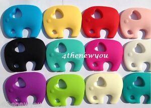 Chewelry éléphant Moelleux Collier Autisme Enfant Dentition Sensory Toys Enfants-afficher Le Titre D'origine