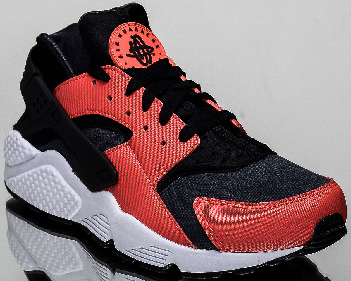 Nike air huarache uomini stile casual scarpe da ginnastica nuove max 318429-800 arancione