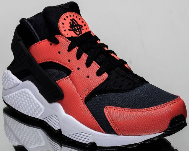 fdfe3afea01e5 Nike Air Huarache men lifestyle casual sneakers NEW max orange 318429-800