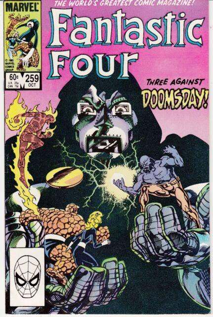 Fantastic Four #259 (Oct 1983, Marvel) Doomsday