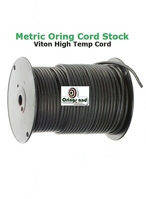 Metric Silicone O-ring Cord 1.78mm Price for 3 ft