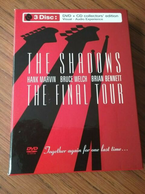The Shadows - The Final Tour  2 CD + DVD COLLECTORS EDITION  BOX SET  ( 2005)