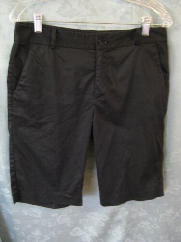 Lauren Ralph Lauren Shorts Size 8 Black Tailored … - image 1