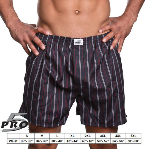 Pro5  Brand Underwear Boxer Trunk Lot of 3,6,9,12 Assorted Pattern and color/'s
