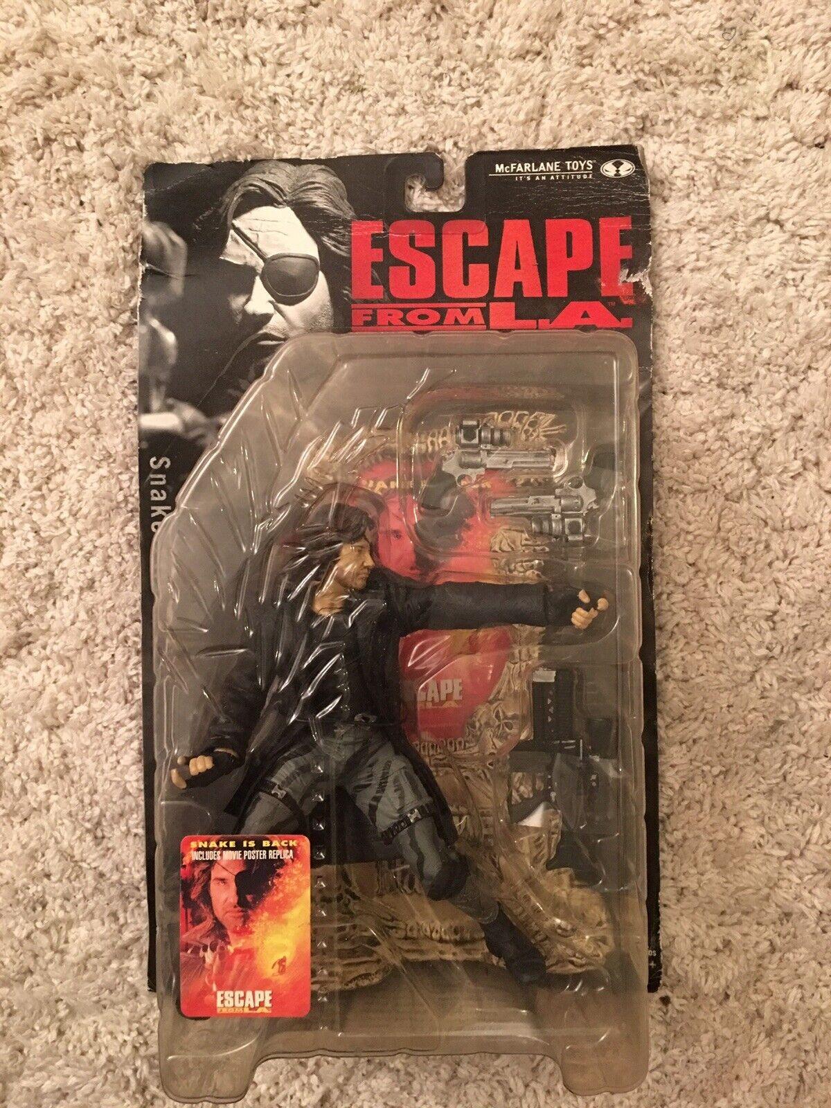 Snake Plissken - Escape From LA - Movie Maniacs Figure