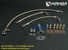 Fits Garrett GT28R GT30R B.B Oil /& Water Line Kit 70cm Oil Feed 25cm Water
