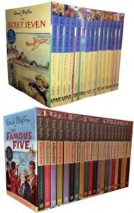 Enid-Blyton-Famous-Five-and-Secret-Seven-36-Books-Collection-Set-Gift-Pack