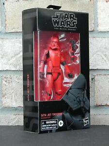 "Star Wars Sith Jet Trooper action figure black 6/"" NIB Rise of Skywalker"