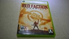 Red Faction: Guerrilla (Microsoft Xbox 360, 2009) DISC IS MINT