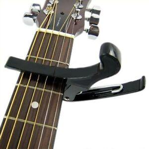 Belle Pince Correctrice/accordeur/capodastre Pour Guitare Electrique Noir G1i1