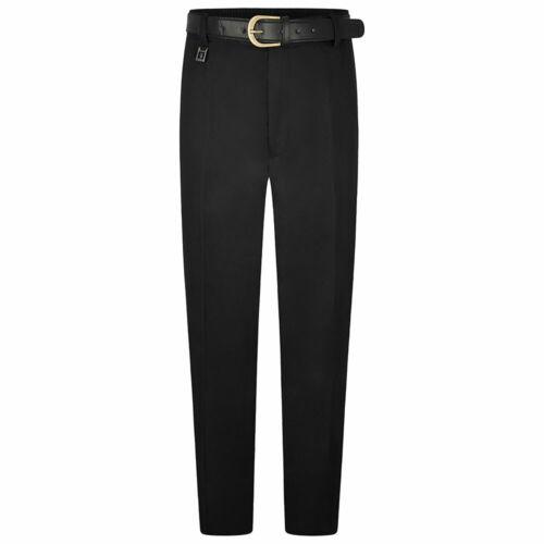 ZECO New Boys Extra Sturdy Fit Trousers Half Elastic Waist School Uniform Pants