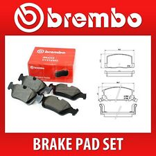 P 83 019 // P83019 2 Wheels on 1 Axle Fits TOYOTA Brembo Rear Brake Pad Set