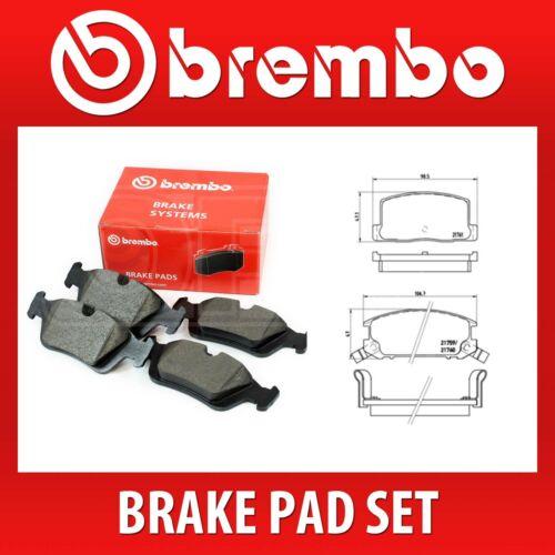 P 83 019 // P83019 Brembo Rear Brake Pad Set Fits TOYOTA 2 Wheels on 1 Axle