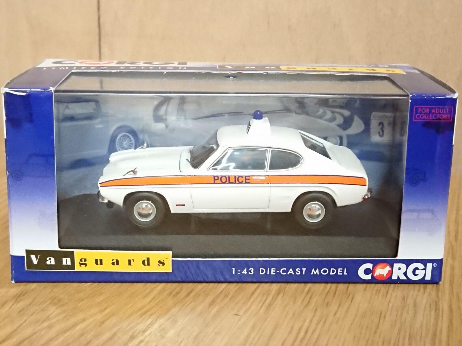 Corgi VA13304 Ford Capri Mk1 3000GT Thames Valley Police Ltd Ed No. 1000 of 1000