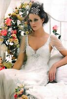 Jenny Packham Palma Opal Wedding Dress beaded size 16/18 rrp £3600 Last Listing