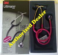 2157 Raspberry Rainbow 3m Littmann Classic Ii Infant Stethoscope Littman 28