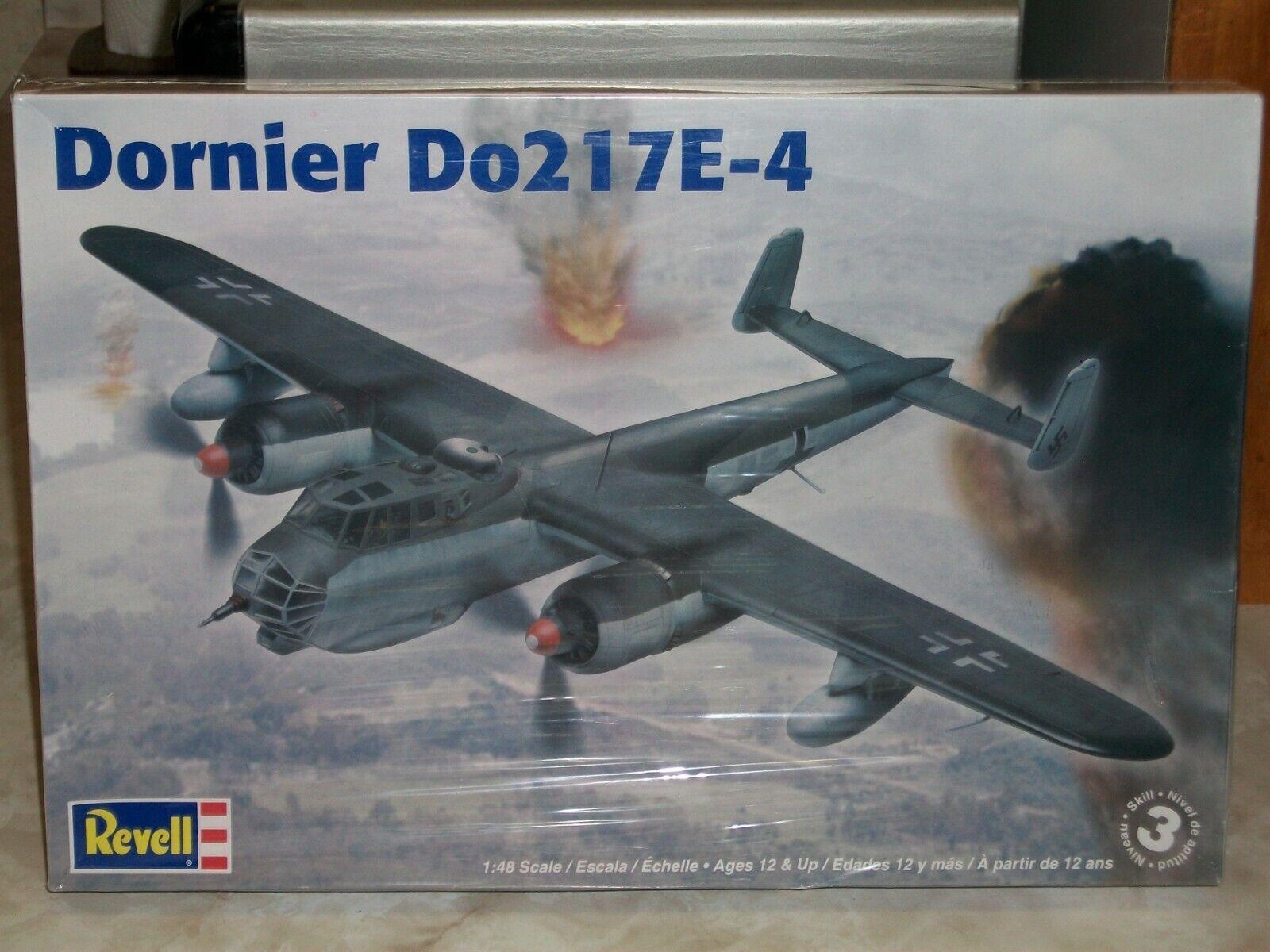 Revell 1 48 Scale Dornier Do 217E-4 w Extras - Factory Sealed
