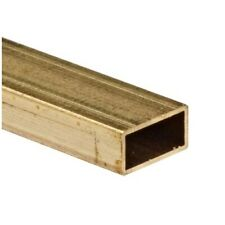 "K/&S 8262 Rectangle Brass Tube 3//32/"" x 3//16/"" x 0.014/"" x 12/"""