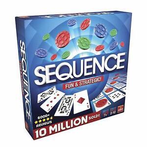 Sequence-Spiel-Kartenspiel-Strategiespiel-Taktikspiel-Gesellschaftsspiel-NEU