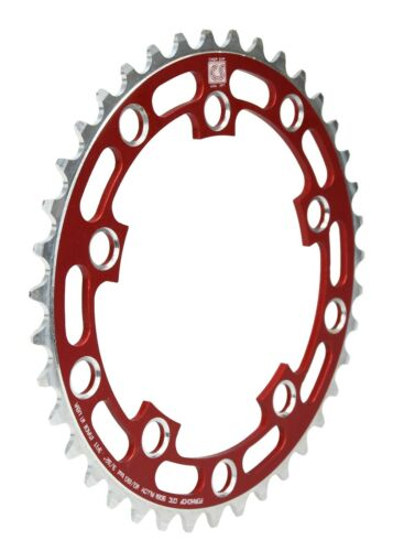 Porkchop BMX Chop Saw I single speed bicycle chainring 39T 110//130mm bcd RED