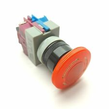 Idec Avw Emergency E Stop Pushbutton Switch Nc Amp No 440v 10a Contacts