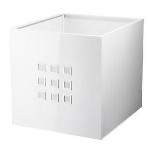 Image Is Loading IKEA LEKMAN Storage Box Red White Or Gray