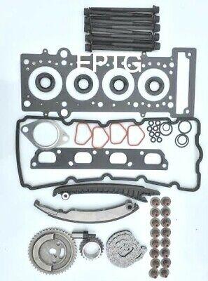 BMW MINI 1.6 COOPER-S /& JCW TIMING CHAIN KIT HEAD GASKET SET /& BOLTS 2001-06