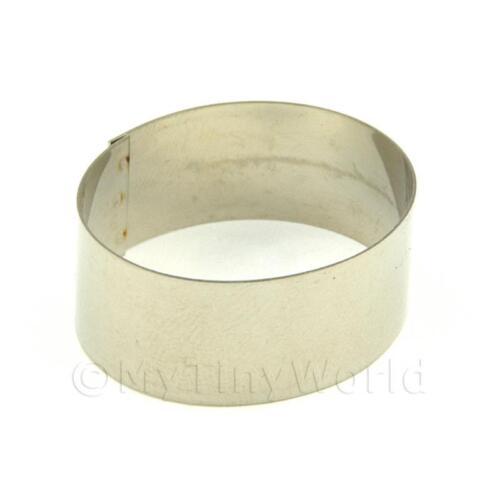 30mm Metall ovale Form Zuckerguss Ton Schneider