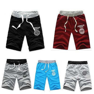 HOT Casual Mens Summer Hip Hop Shorts Jogger Sport Shorts Baggy Slacks Pants CA8