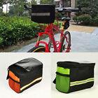 Bike Cycling Bicycle Handlebar Bag Front Frame Tube Pouch Basket Pannier