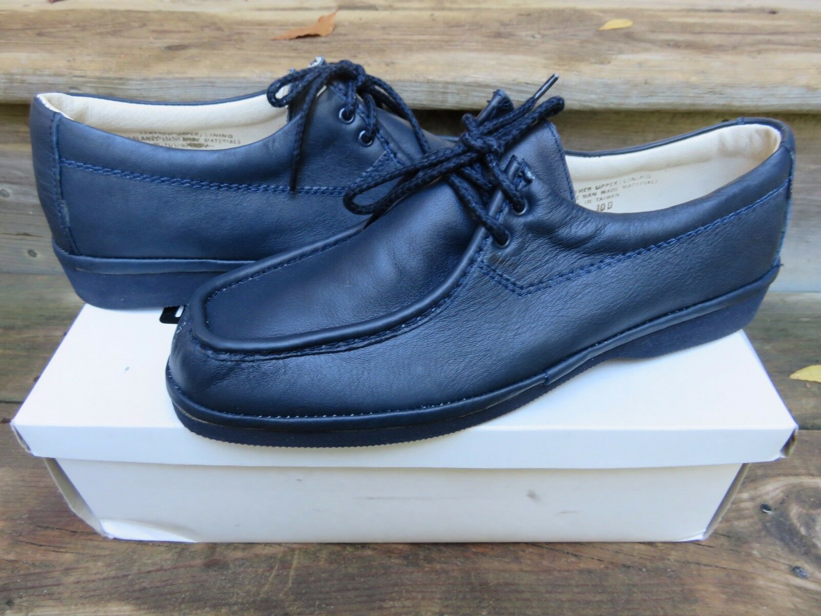 NEW Stuart McGuire bluee Moccasin Loafer Casual shoes Size 4100