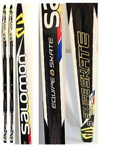 290-Salomon-Equipe-8-Skate-Race-Skis-186-cm-NWT-XC-G4-Zeolit-Base-Nordic