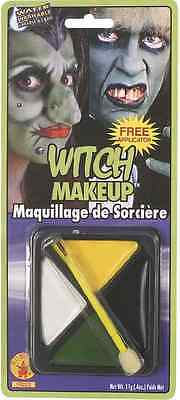 Witch Makeup Kit Fast Face Fancy Dress Up Carnival Halloween Costume Accessory