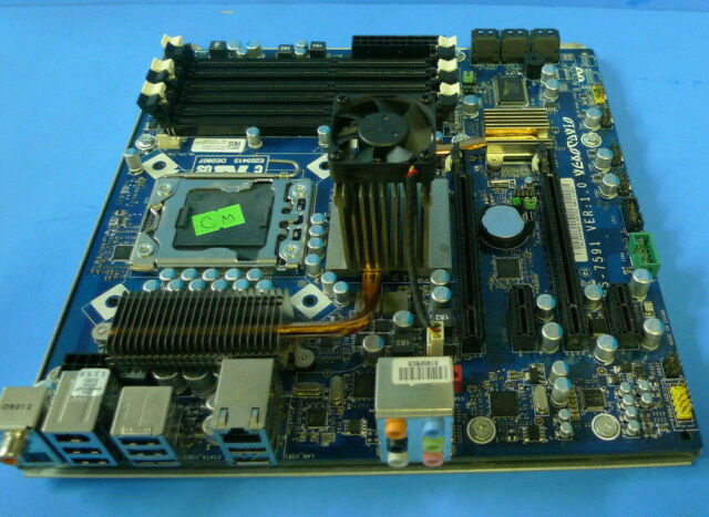 Genuine Alienware Aurora Motherboard Socket LGA1366 4VWF2