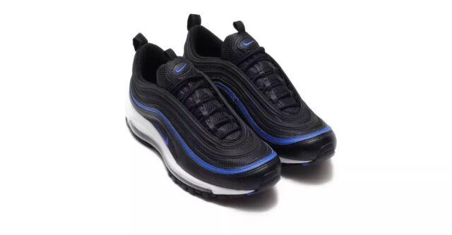 half off a7c33 8eb05 Nike Men s Air Max 97 OG Size 13 AR5531 001 Anthracite Black-Racer blue