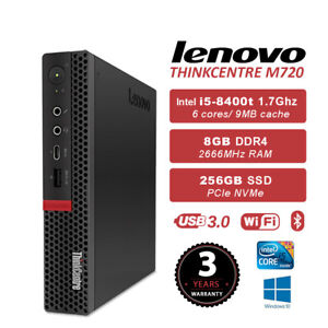 Details about Lenovo THINKCENTRE M720 TINY i5-8400T 8G 256G SSD WIFI+BT  WIN10 3 Years Warranty