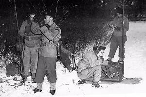 WW2 Le Colonel Gambiez commandant le Bataillon de choc en Alsace fin 1944