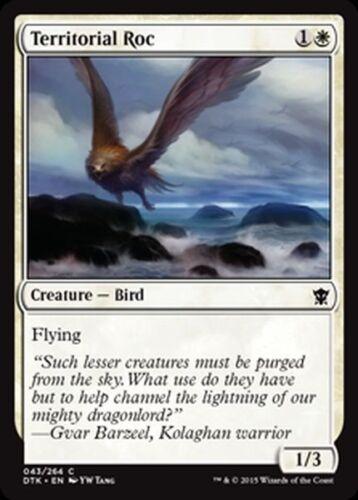 Territorial Roc NM x4 Dragons of Tarkir MTG Magic Cards White Common
