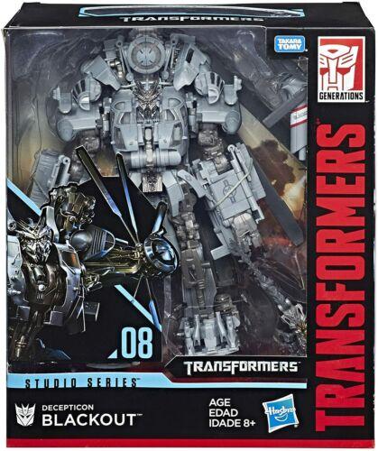 FIGURE ~ Leader Class Studio Series ~ Decepticon BLACKOUT #08 Transformers