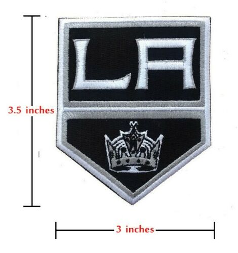 LA Los Angeles Kings Patch Sew On Iron Embroidered Hockey Team