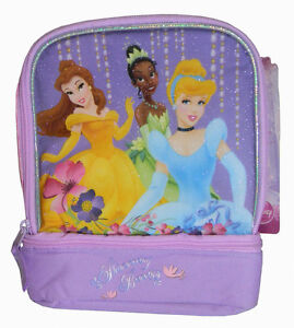 172dc167d12f Disney Princess Girls School Insulated Lunch Bag Cinderella, Tiana ...