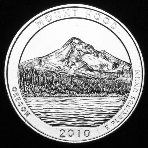 """2010 P Mount Hood OR America the Beautiful National Parks /""""Satin/"""" Roll 40 each"""