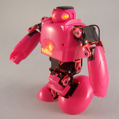 Educational Humanoid Robot DIY Kit with Remote Control Intelligence- 15D Pink