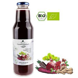 Bio-Granatapfel-Violette-Karotte-Rote-Bete-Ingwer-100-Direktsaft-12-x-750-ml