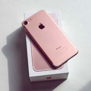 iPhone-7-Rose-Gold-32GB-A1660-Unlocked-for-International-GSM-amp-CDMA-w-BOX