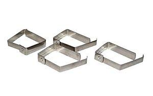 GemäßIgt Tischdeckenklammern Tischtuchklammern Tischdecken Tischtuch Klammern Edelstahl HeißEr Verkauf 50-70% Rabatt Kochen & Genießen