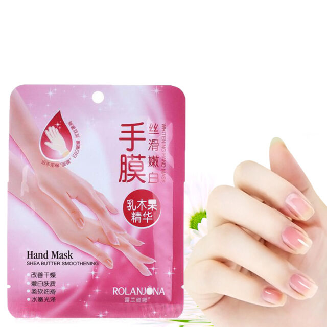 1Pair  Exfoliating Moisture White Hand Mask Peel Remove Hard Dead Skin Mask