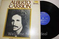 """Alberto Carrion - Letra y Musica  LP (VG) 12"""""""